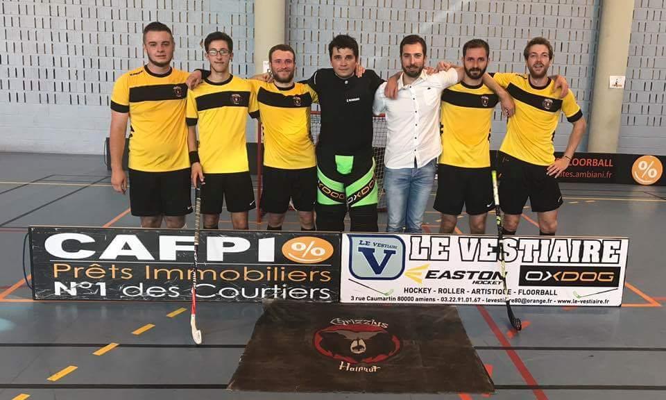 équipe Grizzlys à Amiens