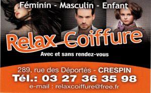 Logo Rela Coiffure Quiévrechain