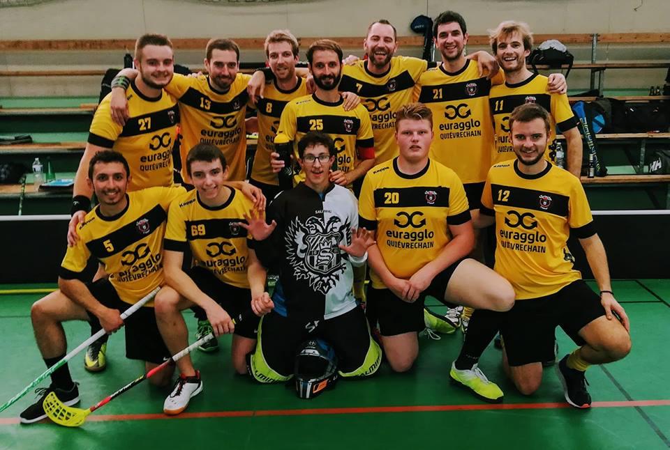 L'équipe contre Orléans